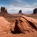 The Three Mittens, Monument Valley Arizona/Utah