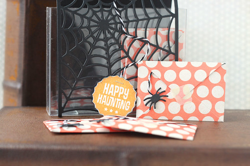 happy haunting mini card set {MFT guest designing}
