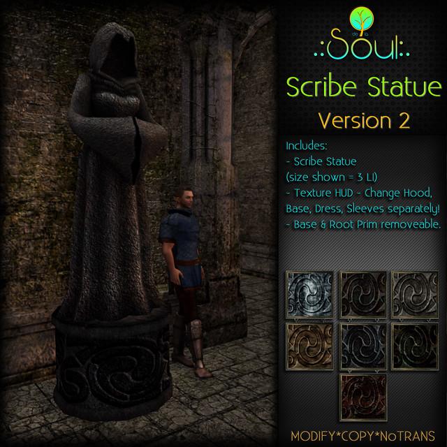 2014 Scribe Statue 2