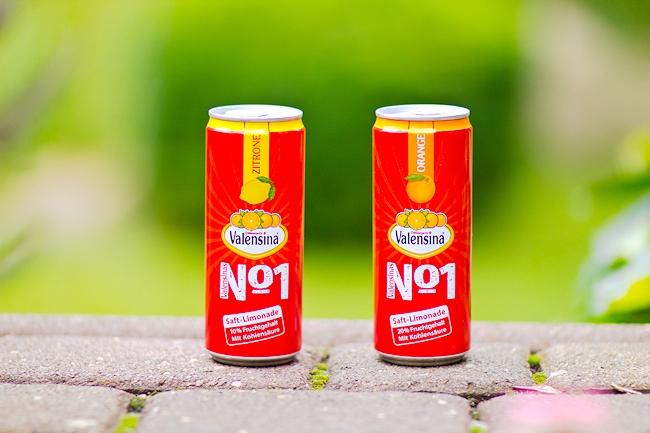 Inhalt Degustabox Juli, Valensina Saft-Limonade