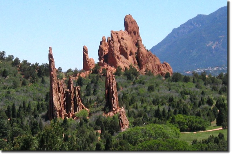 Panorama of the Garden of the Gods 7-1