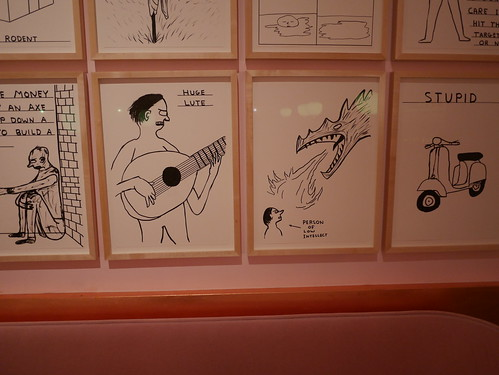 """Sketch"" Afternoon Tea With David Shrigley - 8"