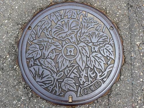 Matto Ishikawa, manhole cover (石川県松任市のマンホール)