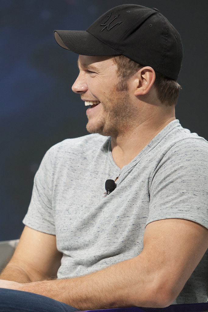 Chris Pratt at Guardians of the Galaxy Q&A at Yahoo HQ