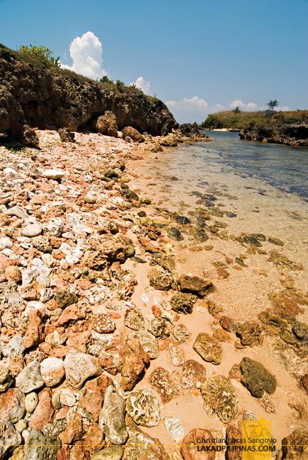 Rocky Shore at Dasol's Balas Nagtaros Island