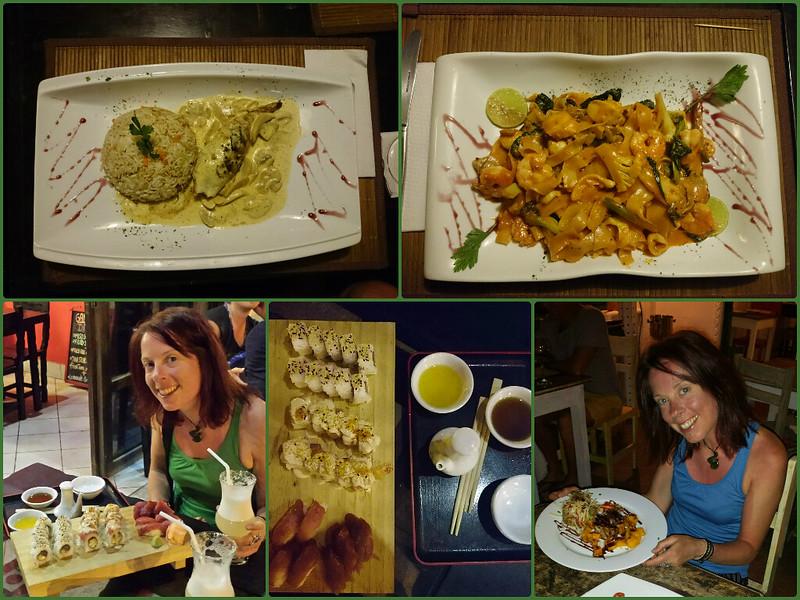 Restaurant Scene, Mancora