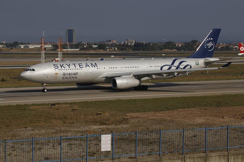 Saudia Skyteam Airbus   A330