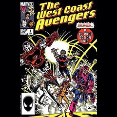 Own a piece of the West Coast Avengers, today at www.LongboxGraveyard.com. #comicbooks