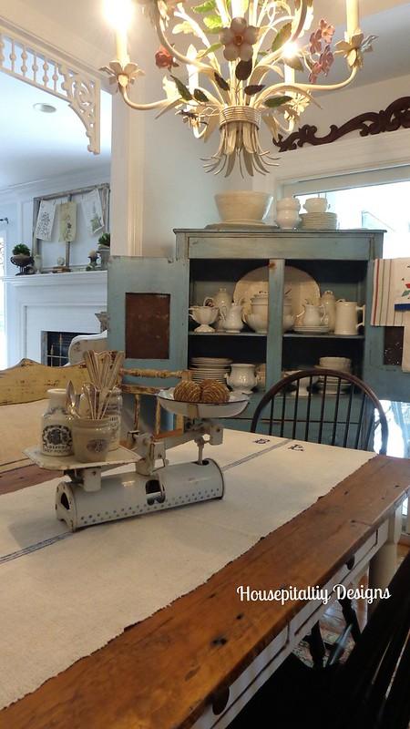 Vintage Breakfast Room-Chateau Chic