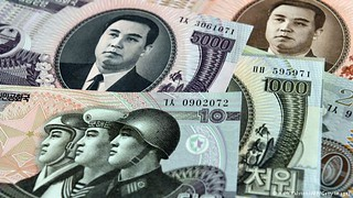 North Korean banknotes