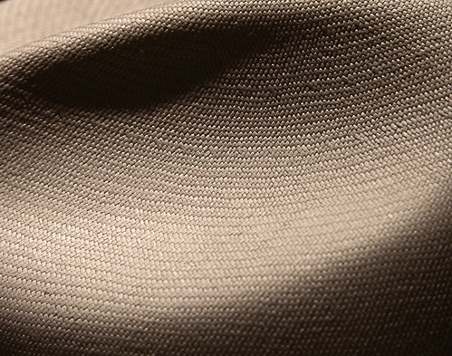 Detail of the fine weave of a $2,000 Panama hat