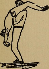 """Image from page 140 of """"How to, a book of tumbling, tricks, pyramids and games;"""" (1899)"""
