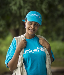 Meiraf Abebe, Education Officer for UNICEF Gambella