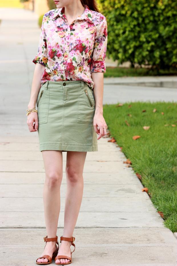 Floral Blouse, Floral Shirt