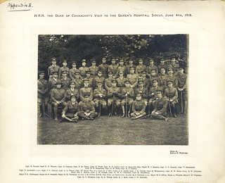Staff, Queen's Hospital, Sidcup 4 June 1918