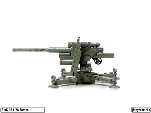 FlaK 36 de 88mm. de Panzerbricks
