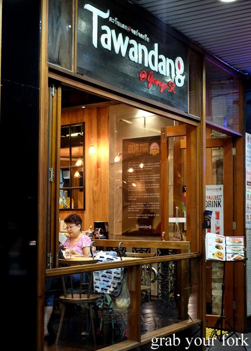 Tawandang Thai-German restaurant, Sydney