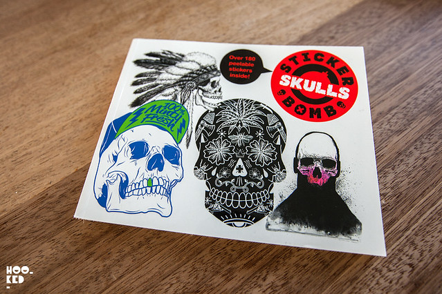 Stickerbomb Skulls Book from Studio Rarekwai
