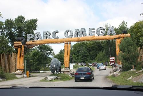 Parc Omega Entrance