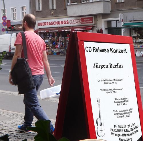 Konzert CD Release Jürgen Berlin
