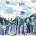 hk_skyline by World Sketching Tour