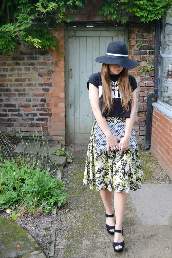 Primark Pineapple Skirt