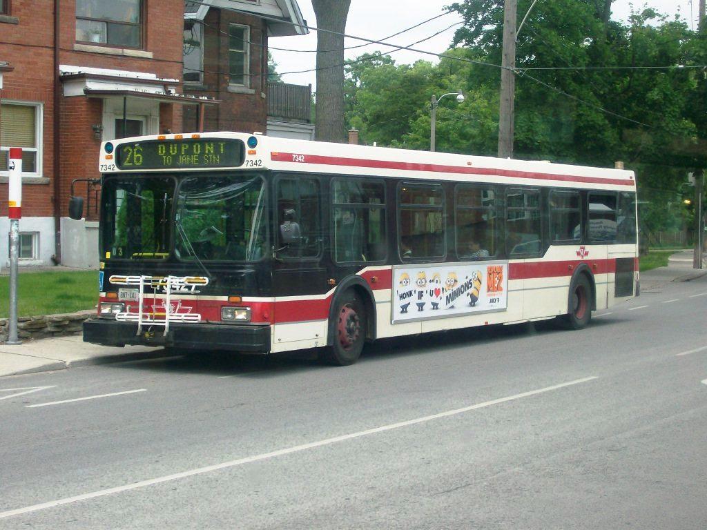 TTC 1999 New Flyer D40LF #7342