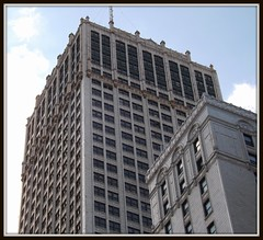 Two Tall Buildings #2: Cadillac Tower and Cadillac Square Buildings--Detroit MI