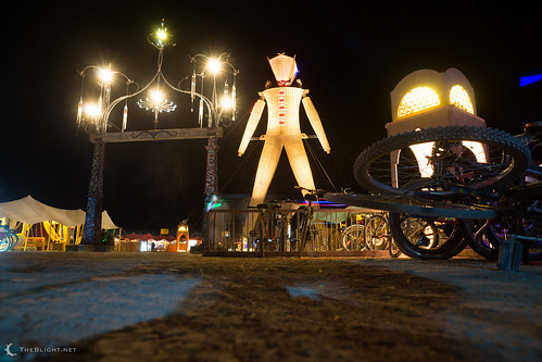 The Man — Burning Man 2014