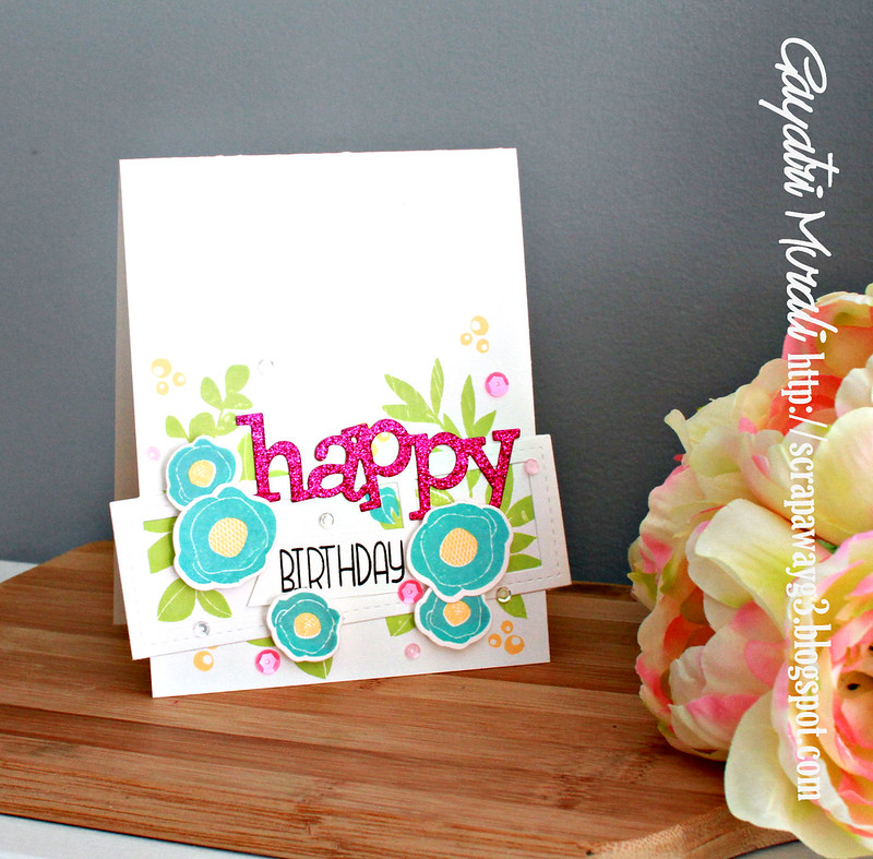 Happy Birthday vertical