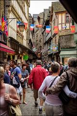 Tourists - Mont-St-Michel