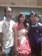 With christine at epicentrum (premiere crush)