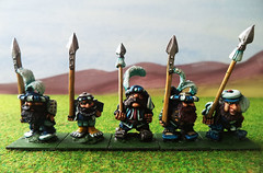 Dwarf-spearmen