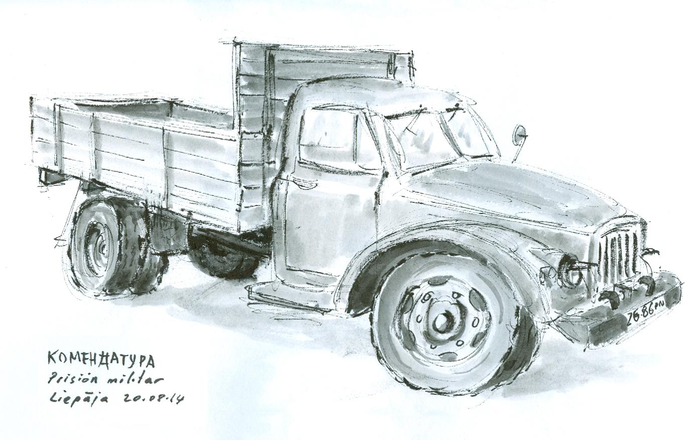Camión soviético, Estonia