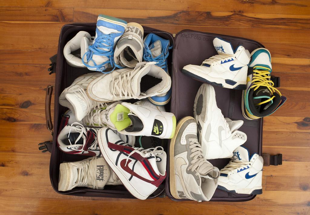 NINE: Nikes