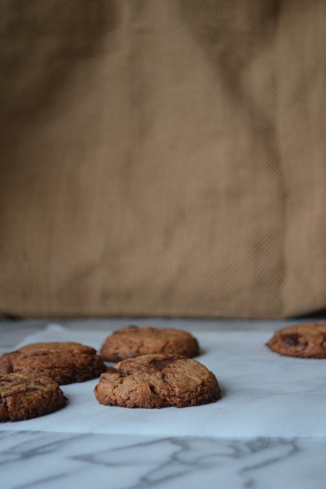 Vegan Gluten Free Chocolate Chip Cashew Cookies