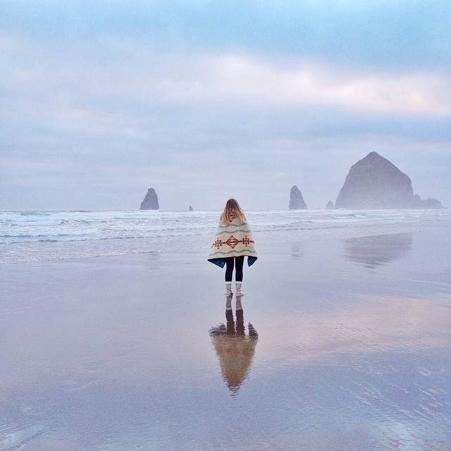 that one night at Cannon Beach...