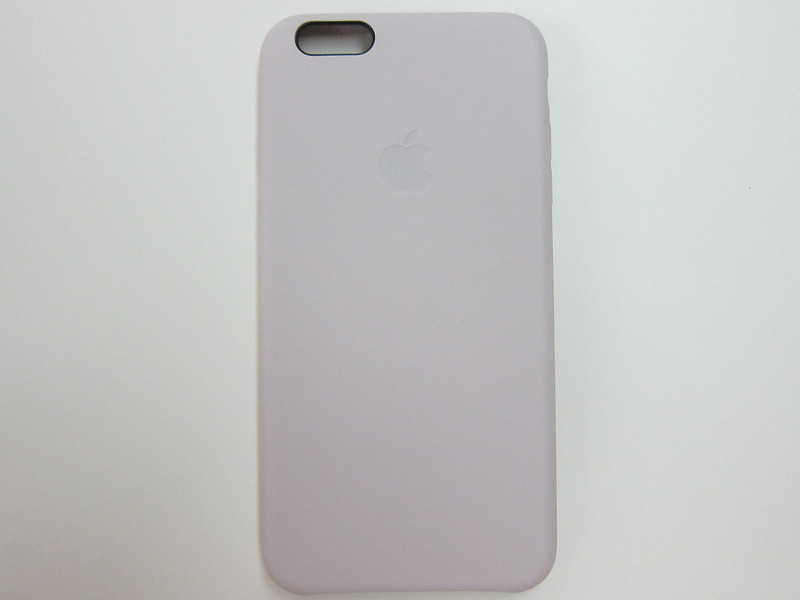 Apple iPhone 6 Plus Leather Case - Soft Pink - Back