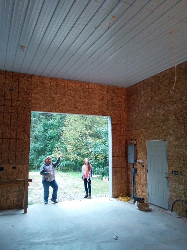Michigan Pole Barn Man Cave Build Archive The Garage Journal Board Steel Building Wiring Idea