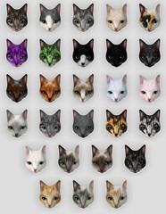 Arcade Cat Fur Colors!