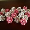 #flores #flowers #handmade #hechoamano #tocadosCanotier #bodas #wedding #arras