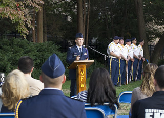 Cadets stand for 24 hours to honor prisoners of war, missing in action