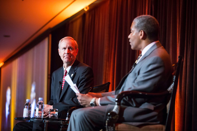 Bruce Rauner at the MPC 2014 annual luncheton