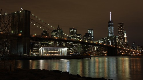 View of Manhattan from Dumbo