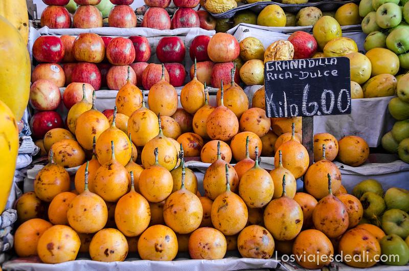 mercado de San Camilo en Arequipa