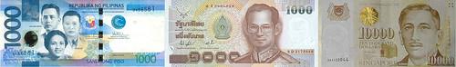 Asian banknotes2