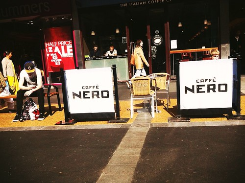 A Fly Stirred In - Café Nero Leicester