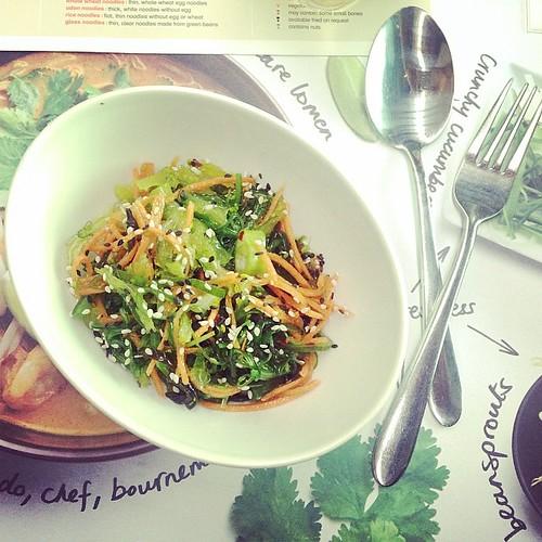 #wakame #salad. My favourite salad ever........#wagamama #southampton