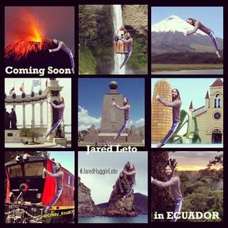 #JaredHugginLeto ECUADOR