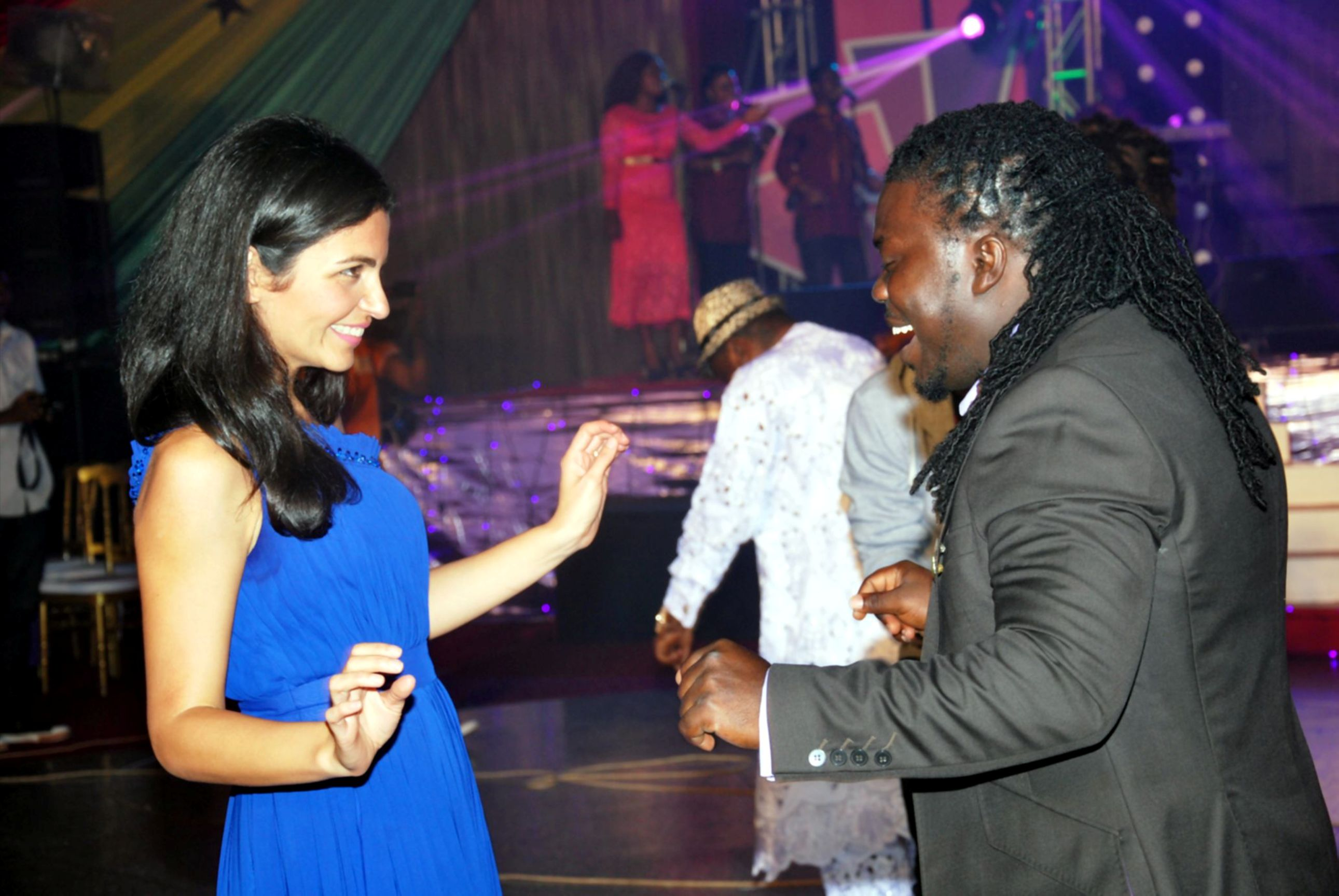Obour and Tigo CEO Dancing